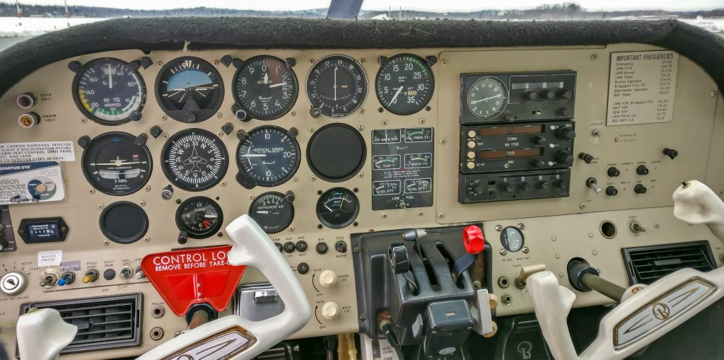 Skipper instrument panel